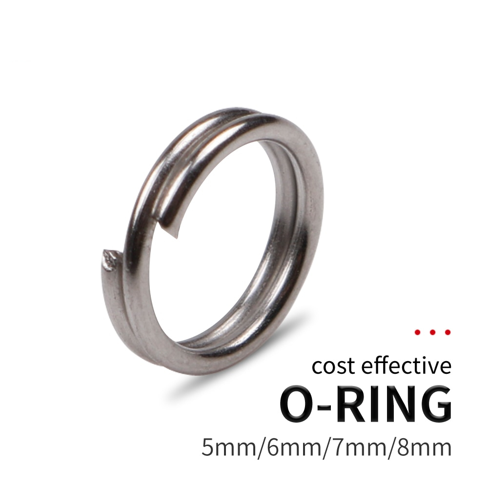 100PC SIZE 4 STAINLESS STEEL SPLIT RINGS JEWELRY CONNECTORS//CRAFTS /& LURES